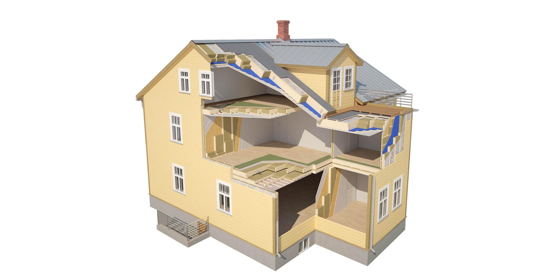 Hvordan vi bygger våre hus